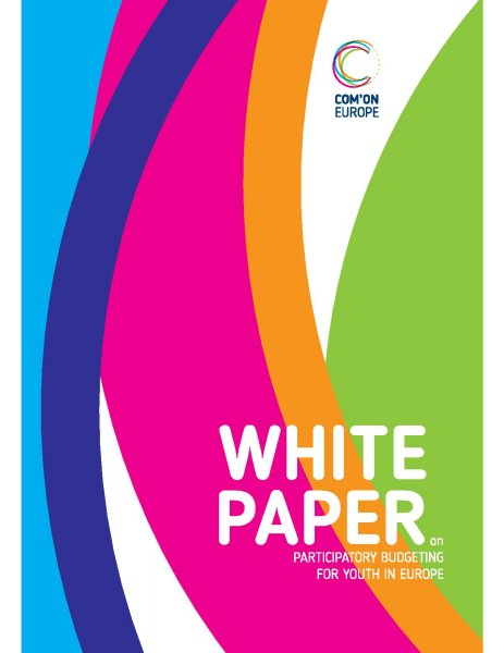 White Paper on Participatory Budgeting for Youth in Europe