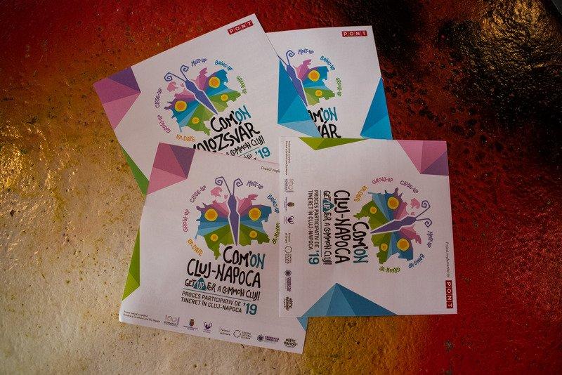 Com'ON Cluj-Napoca: aproape 10.000 de voturi de la peste 3.000 de clujeni pentru inițiativele tinerilor de dezvoltare a orașului